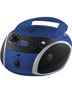 Grundig GRB 4000 BT Digital 3 W Black, Blue, Silver Grundig GPR1140 - 1