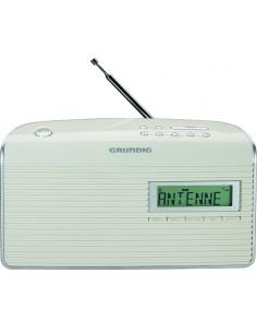 Grundig Music WS 7000 DAB+ Kannettava Analoginen & digitaalinen Hopea, Valkoinen Grundig GRR3240 - 1