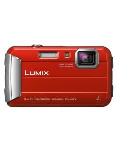 "Panasonic Lumix DMC-FT30 1/2.33"" Kompaktkamera 16.1 MP CCD 4608 x 3456 pixlar Orange Panasonic DMC-FT30EG-D - 1"