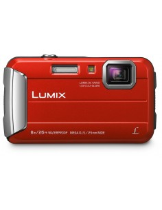 "Panasonic Lumix DMC-FT30 1/2.33"" Compact camera 16.1 MP CCD 4608 x 3456 pixels Red Panasonic DMC-FT30EG-R - 1"