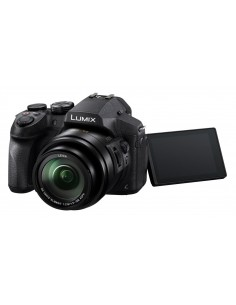 "Panasonic Lumix DMC-FZ300 1/2.3"" Bridge camera 12.1 MP MOS 4000 x 3000 pixels Black Panasonic DMC-FZ300EGK - 1"