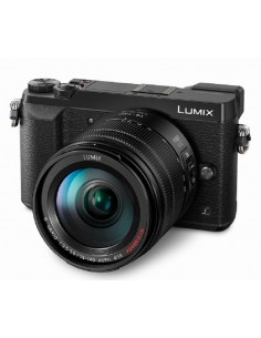 "Panasonic Lumix DMC-GX80 + G VARIO 14-140mm 4/3"" MILC 16 MP Live MOS 4592 x 3448 pixels Black Panasonic DMC-GX80HEG-K - 1"