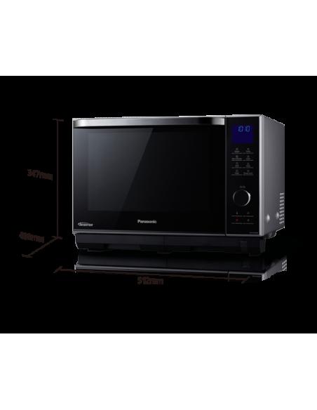 Panasonic NN-DS596MEPG mikroaaltouuni Pöytämalli Yhdistelmämikroaaltouuni 27 L 1000 W Hopea Panasonic NN-DS596MEPG - 2
