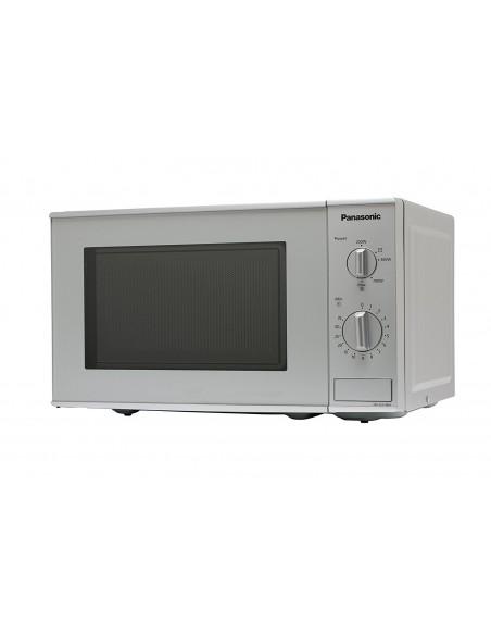 Panasonic NN-E221M mikrovågsugnar Bänkdiskmaskin Enbart mikrovågsugn 20 l 800 W Grå Panasonic NN-E221MMEPG - 2