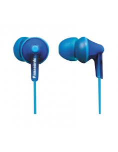 Panasonic RP-HJE125E-A headphones/headset In-ear 3.5 mm connector Blue Panasonic RPHJE125EA - 1