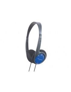 Panasonic RP-HT010E Kuulokkeet Pääpanta 3.5 mm liitin Musta, Sininen Panasonic RPHT010EA - 1