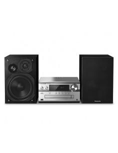 Panasonic SC-PMX94EG-S Kodin äänentoistolaite mikroaudiojärjestelmä Musta, Hopea 120 W Panasonic SC-PMX94EG-S - 1