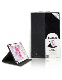 "Sweex SA310V2 taulutietokoneen suojakotelo 17.8 cm (7"") Folio-kotelo Musta Sweex SA310V2 - 1"