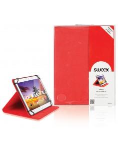 "Sweex SA322V2 iPad-fodral 20.3 cm (8"") Folio Röd Sweex SA322V2 - 1"