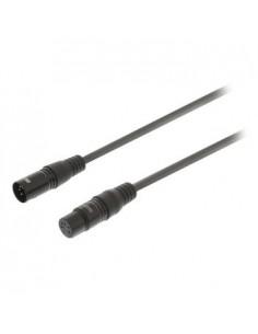 Sweex SWOP15500E10 audiokaapeli 1 m XLR (5-pin) Musta Sweex SWOP15500E10 - 1