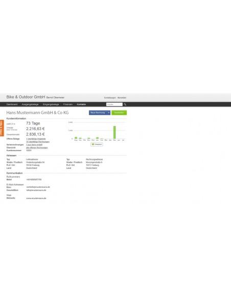 Lexware Lexoffice - Rechnung & Finanzen Elektroninen ohjelmistolataus (ESD) Saksa Lexware Gmbh & Co. Kg 01347-0550 - 9