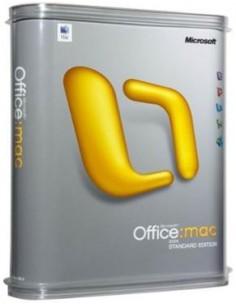Microsoft Office Mac 2011 Standard, Std SA, OV-C, 1Y Aq Y1 AP Microsoft 3YF-00143 - 1