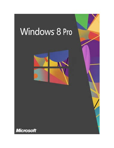 Microsoft Windows 8 Pro, x64, OEI, OEM, DSP, 1pk, DVD, ENG Microsoft 4YR-00047 - 1