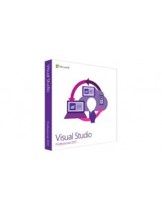 Microsoft Visual Studio Professional 2015 1 lisenssi(t) Japani Microsoft C5E-01251 - 1
