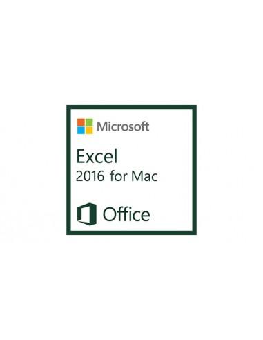Microsoft Excel 2016 for Mac, 1u Microsoft D46-00931 - 1