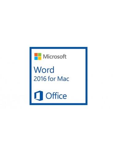 Microsoft Word for Mac 2016. 1u Microsoft D48-01091 - 1