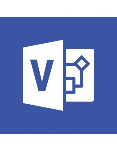 Microsoft Office Visio Professional Microsoft D87-01078 - 1