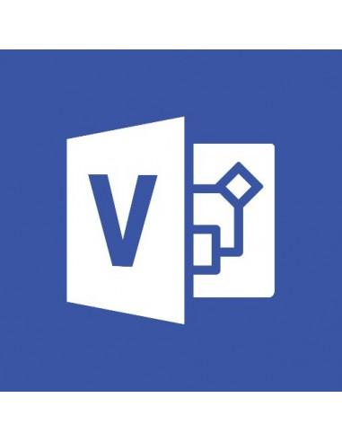 Microsoft Office Visio Professional Microsoft D87-04251 - 1