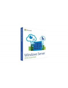 Microsoft Windows Server 2016 Essentials 1 lisenssi(t) Monikielinen Microsoft G3S-00999 - 1