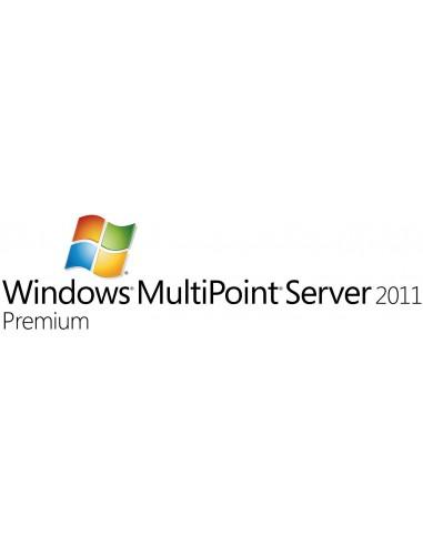 Microsoft Windows MultiPoint Server 2011 Premium, OVL-NL, 1 SrvLic, SA 1Y-Y1 Microsoft V7J-00162 - 1