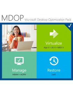Microsoft Desktop Optimization Pack for Software Assurance 1 license(s) Multilingual Microsoft WSB-00375 - 1