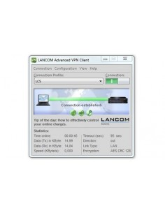 Lancom Systems Advanced VPN Client (Windows) Lancom Systems Gmbh 61603 - 1
