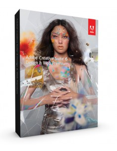 Adobe Web Premium CS6 Design & , Win/Mac, DVD Set, K-12/500, SWE Adobe 65178537 - 1