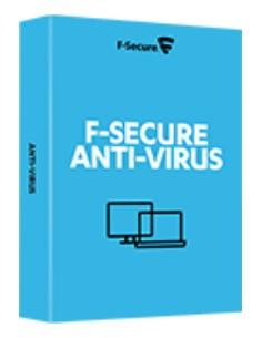 F-SECURE Anti-Virus 1käyttäjä (t) 1vuosi/vuosia F-secure FCACOB1N001G1 - 1