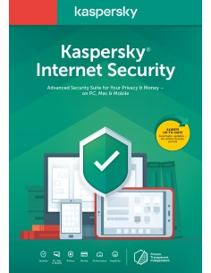 Kaspersky Lab Internet Security 2020 1 lisenssi(t) vuosi/vuosia Hollanti Kaspersky KL1939B5AFS-20SLIM - 1
