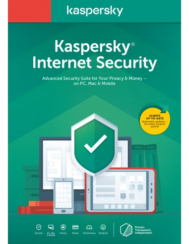 Kaspersky Lab KIS 2020 5dev 1y slim sierra bs noCD BE 1 lisenssi(t) vuosi/vuosia Hollanti Kaspersky KL1939B5EFS-20SLIM - 1