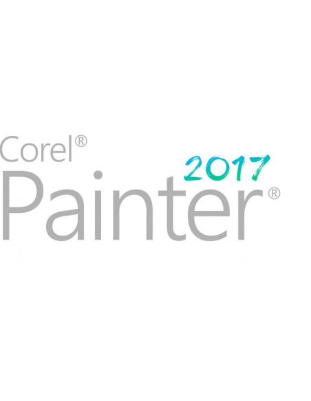 Corel Painter 2017 License (5-50) Saksa, Englanti, Ranska Corel LCPTR2017MLPCM2 - 1