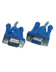 Aten 2L-2406 VGA-kaapeli 6 m VGA (D-Sub) Sininen, Harmaa Aten 2L-2406 - 1