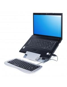 """Dataflex 51.388 Ställ för bärbara datorer 45.7 cm (18"""") Silver Dataflex 51.388 - 1"""