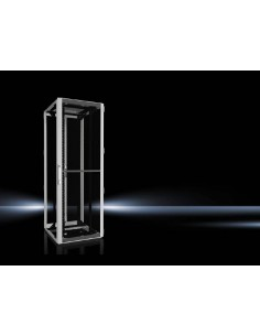 Rittal 5512.181 rack cabinet 47U Freestanding Black, Grey Rittal 5512181 - 1
