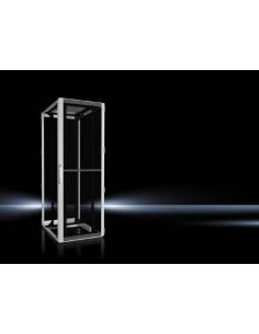 Rittal 5514.181 rack cabinet 47U Freestanding Black, Grey Rittal 5514181 - 1