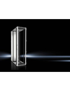 Rittal 5515.131 rack cabinet 47U Freestanding Black, Grey Rittal 5515131 - 1