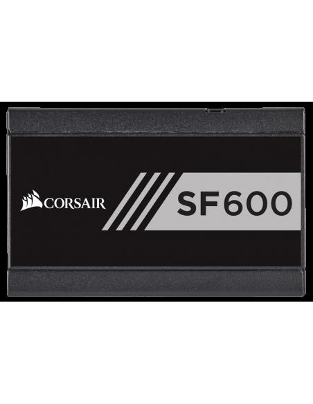 Corsair SF600 virtalähdeyksikkö 600 W 24-pin ATX SFX Musta Corsair CP-9020105-EU - 5