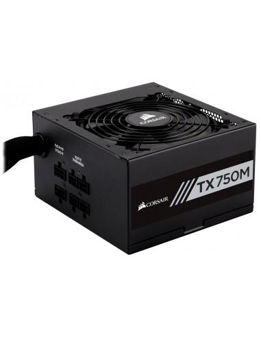 Corsair TX750M virtalähdeyksikkö 750 W 20+4 pin ATX Musta Corsair CP-9020131-EU - 1
