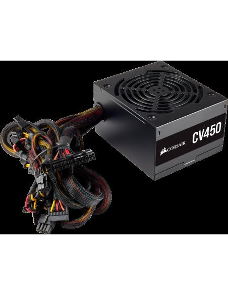 Corsair CV450 virtalähdeyksikkö 450 W 20+4 pin ATX Musta Corsair CP-9020209-EU - 2