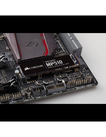 Corsair MP510 M.2 4000 GB PCI Express 3.0 3D TLC NAND NVMe Corsair CSSD-F4000GBMP510 - 5
