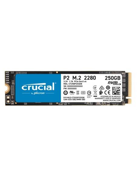 Crucial P2 M.2 250 GB PCI Express 3.0 NVMe Crucial Technology CT250P2SSD8 - 1