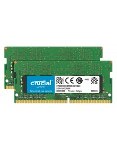 Crucial 2x16GB DDR4 muistimoduuli 32 GB 2400 MHz Crucial Technology CT2K16G4SFD824A - 1