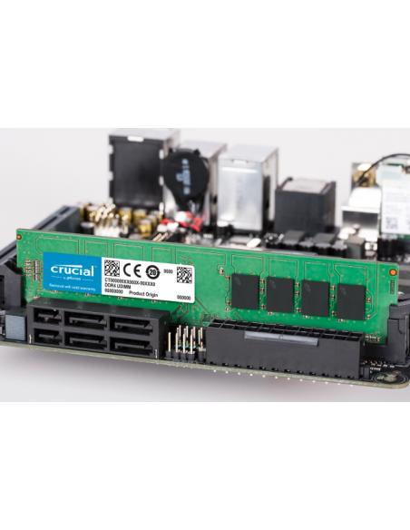 Crucial CT2K4G4DFS632A muistimoduuli 8 GB 2 x 4 DDR4 3200 MHz Crucial Technology CT2K4G4DFS632A - 2