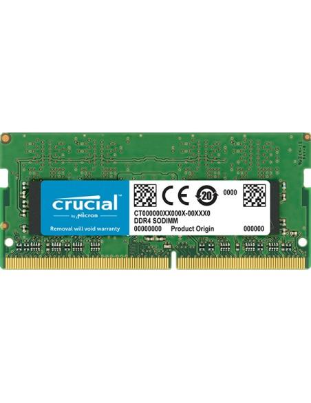 Crucial CT8G4SFS832A muistimoduuli 8 GB 1 x DDR4 3200 MHz Crucial Technology CT8G4SFS832A - 1