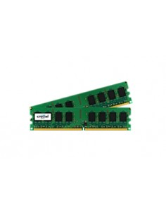 Crucial 2GB DDR2 UDIMM muistimoduuli 800 MHz Crucial Technology CT2KIT12864AA800 - 1