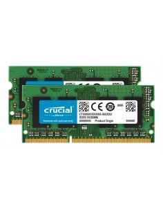 Crucial 8GB PC3-12800 Kit muistimoduuli 2 x 4 GB DDR3 1600 MHz Crucial Technology CT2KIT51264BF160B - 1