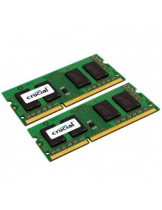 Crucial 8GB (4GBx2) PC3-12800 muistimoduuli 2 x 4 GB DDR3 1600 MHz Crucial Technology CT2KIT51264BF160BJ - 1