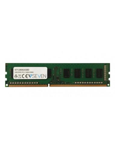 V7 V7128002GBD muistimoduuli 2 GB 1 x DDR3 1600 MHz V7 Ingram Micro V7128002GBD - 1