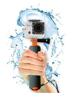 Easypix GoXtreme Floating Grip selfiekeppi Kamera Harmaa Easypix 55230 - 1