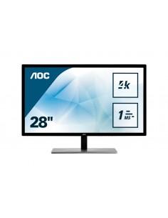 "AOC Value-line U2879VF tietokoneen litteä näyttö 71,1 cm (28"") 3840 x 2160 pikseliä 4K Ultra HD LCD Musta Aoc International U287"